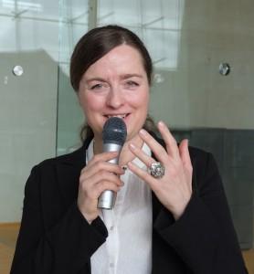 Foredragsholder Charlotte Bang