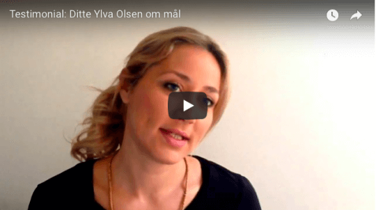 Testimonial, video, mentaltræning, Ditte Ylva